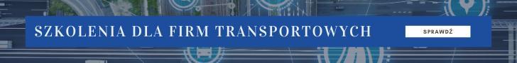 szkolenia dla firma transportowych